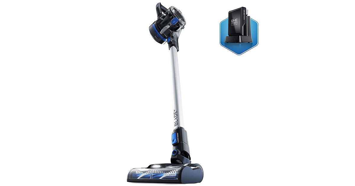 Hoover BH53310 ONEPWR Blade Cordless Stick Lightweight Silver Vacuum Cleaner image