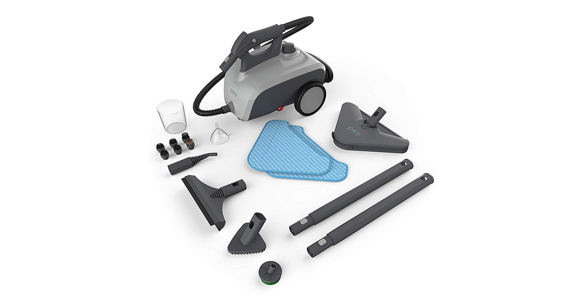 Pure PEROLSTM Enrichment PureClean XL Rolling Steam Cleaner image