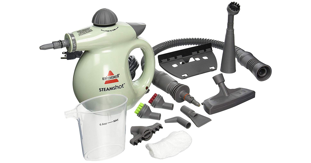 BISSELL 39N7A-39N71 Steam Shot Deluxe Light Green Hard Surface Cleaner image