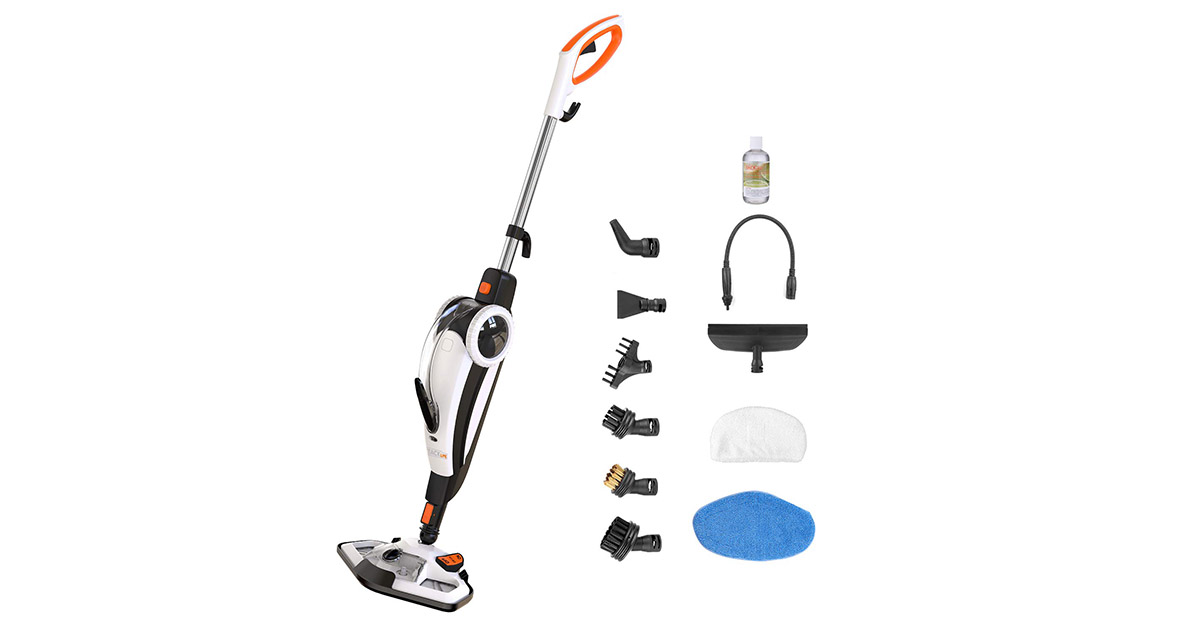 TACKLIFE HSM01A-FL Hand held Steam Cleaner image