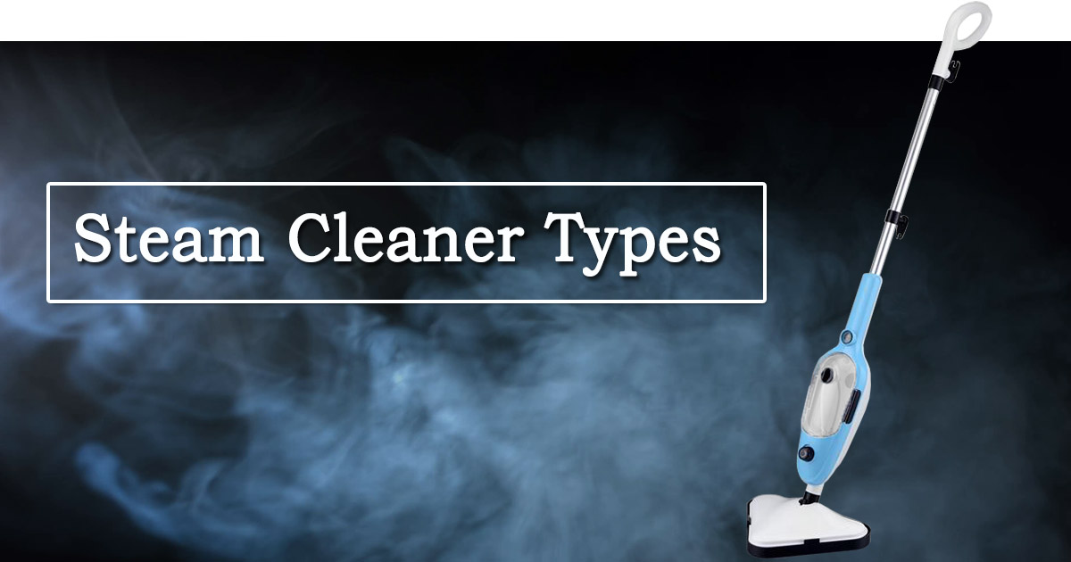 Steam Cleaner Types image