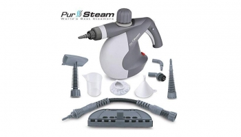 Pursteam PS-581X Steam Cleaner – Gives safe and fast cleaning on a wide range of surfaces!